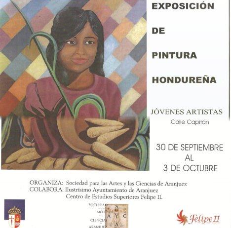 Poster de la exposicion de pinturas