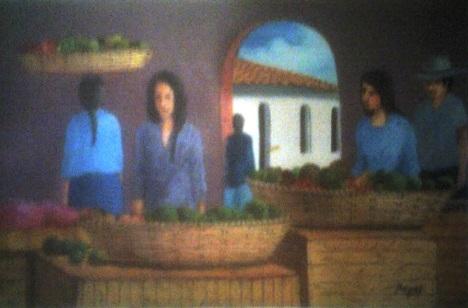 Las Vendedoras del artista Renan Martinez