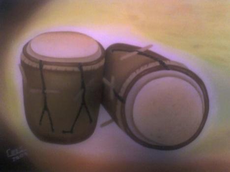 Tambores garifunas (Carlos Escamillas)