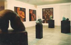 Alex Galo virtuoso de la pintura y escultura (1/4)