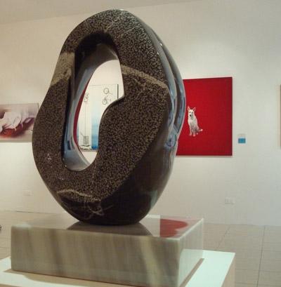 Exposición del pintor y escultor Dario Rivera