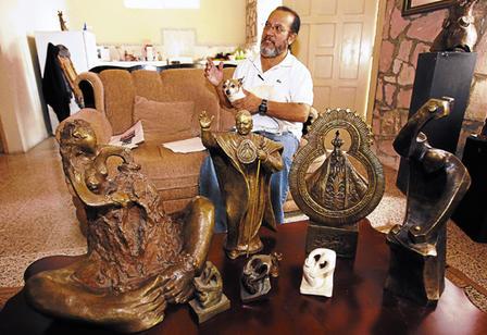 Las esculturas de Jesus Zelaya (2/2)