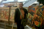 Exposición de obras de Cesar Rendon