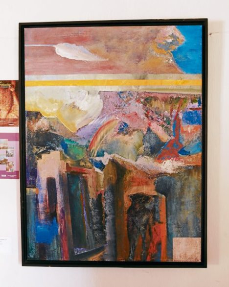 Obras de la artista hondureña Celsa Flores