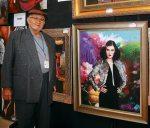 El XII Festival fue dedicado al pintor de gran trayectoria, César Ordóñez