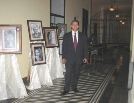 Exposicion del retratista Agustin Lagos