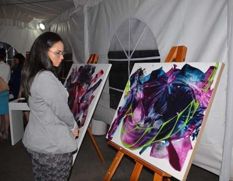 Todo un éxito en la capital el Art Fest 2014