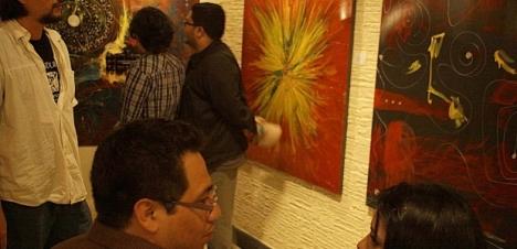 """Muestra de arte contemporáneo en exposición """"ESPACIOS"""""""