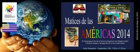 "V Exposicion Internacional de Arte ""Matices de las Américas 2014"""