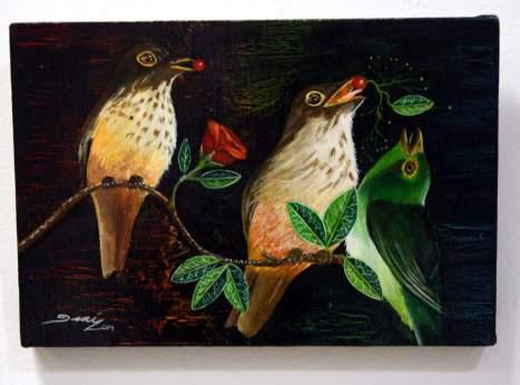 La 44 edición convocó a pintores y escultores de Honduras, El Salvador, Puerto Rico, Guatemala y Estados Unidos.