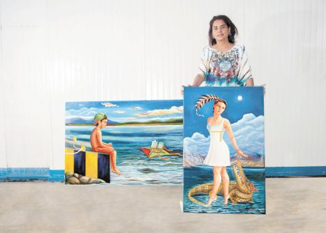 Al pasar  los años ha recibido clases de arte en Honduras y Nicaragua,