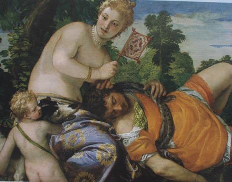 """Veronés """"Venus y Adonis"""""""