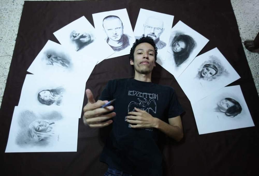 Christian Medina : un talentoso artista autodidacta (1/5)